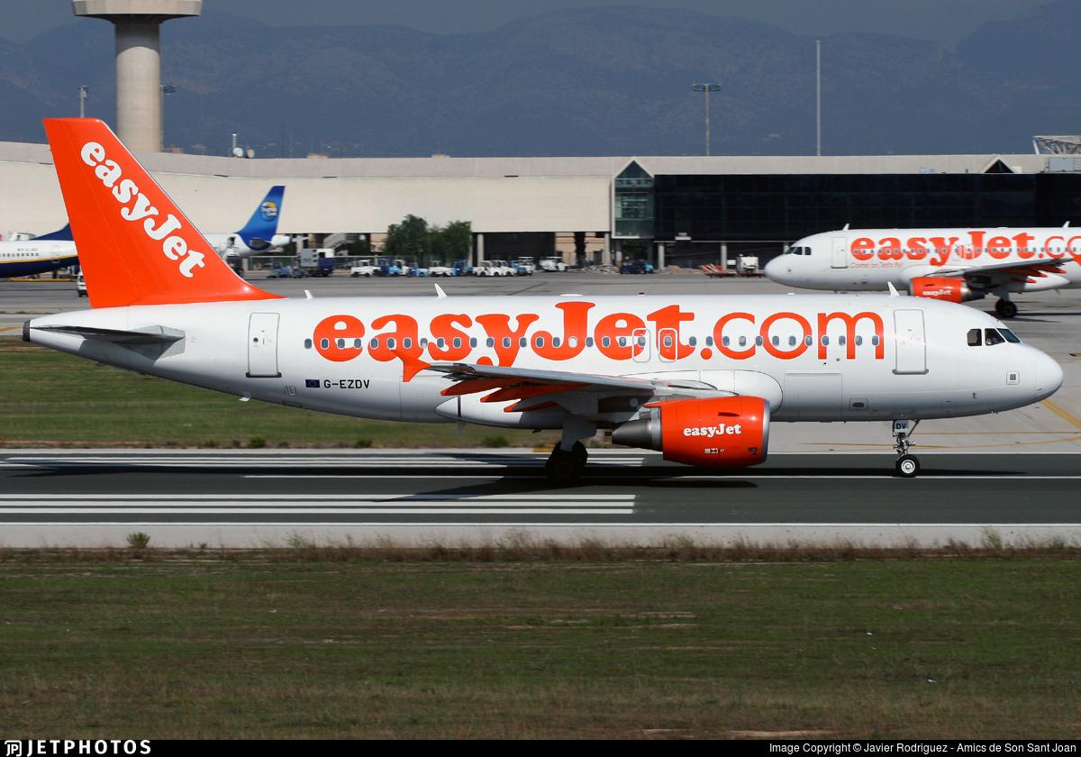G-EZDV - Airbus A319-111 - easyJet