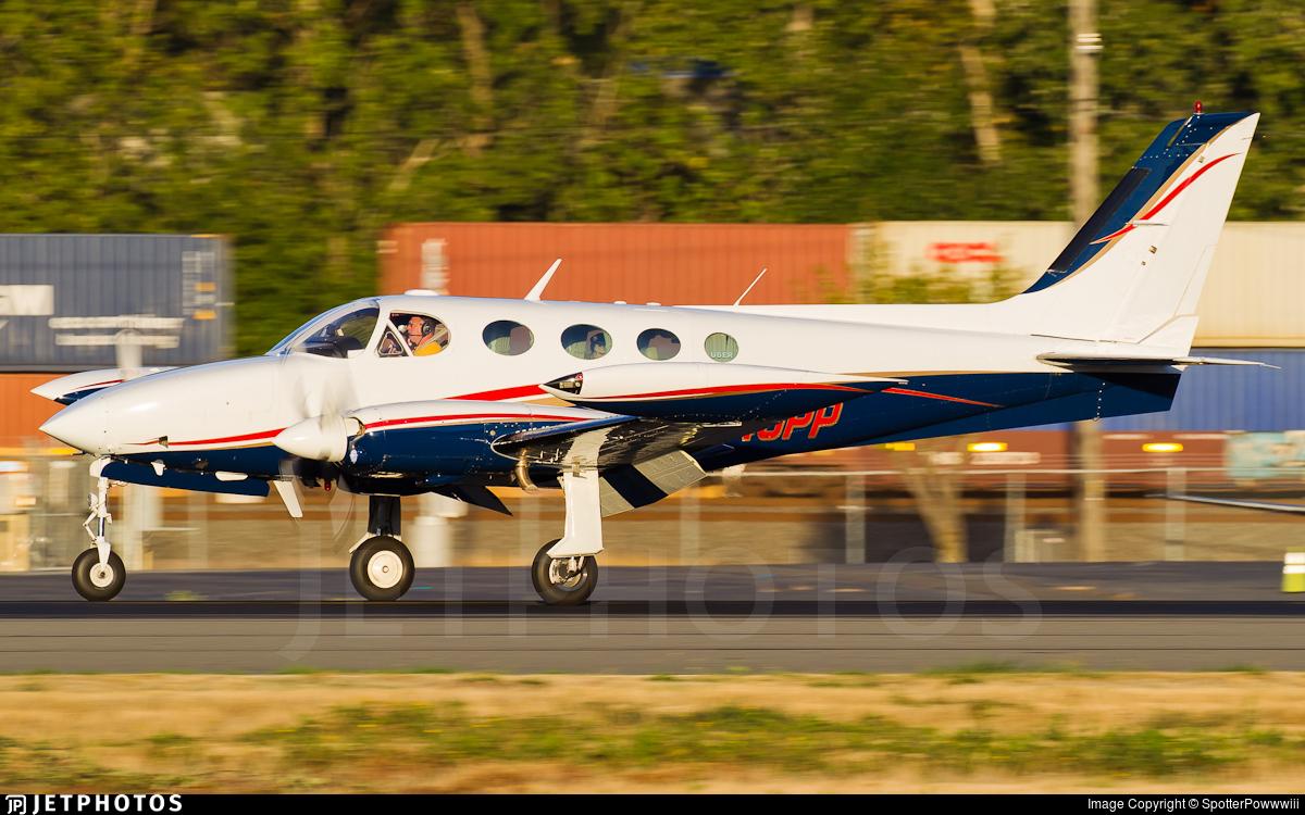 N340PP - Cessna 340A - Private