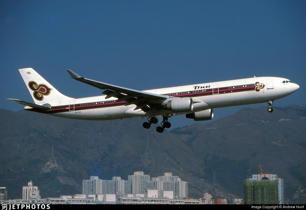 HS-TEA - Airbus A330-321 - Thai Airways International