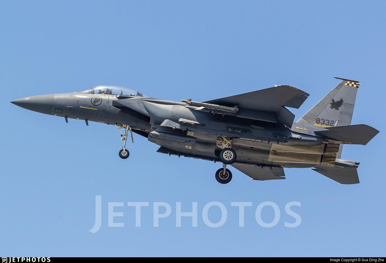 8332 - Boeing F-15SG Strike Eagle - Singapore - Air Force