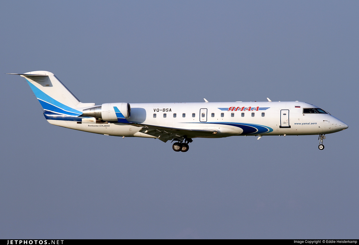 VQ-BSA - Bombardier CRJ-200ER - Yamal Airlines