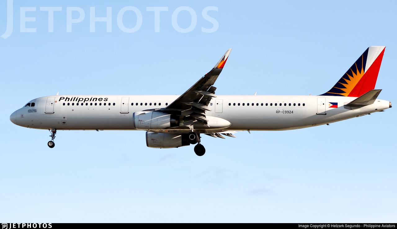 RP-C9924 - Airbus A321-231 - PAL Express
