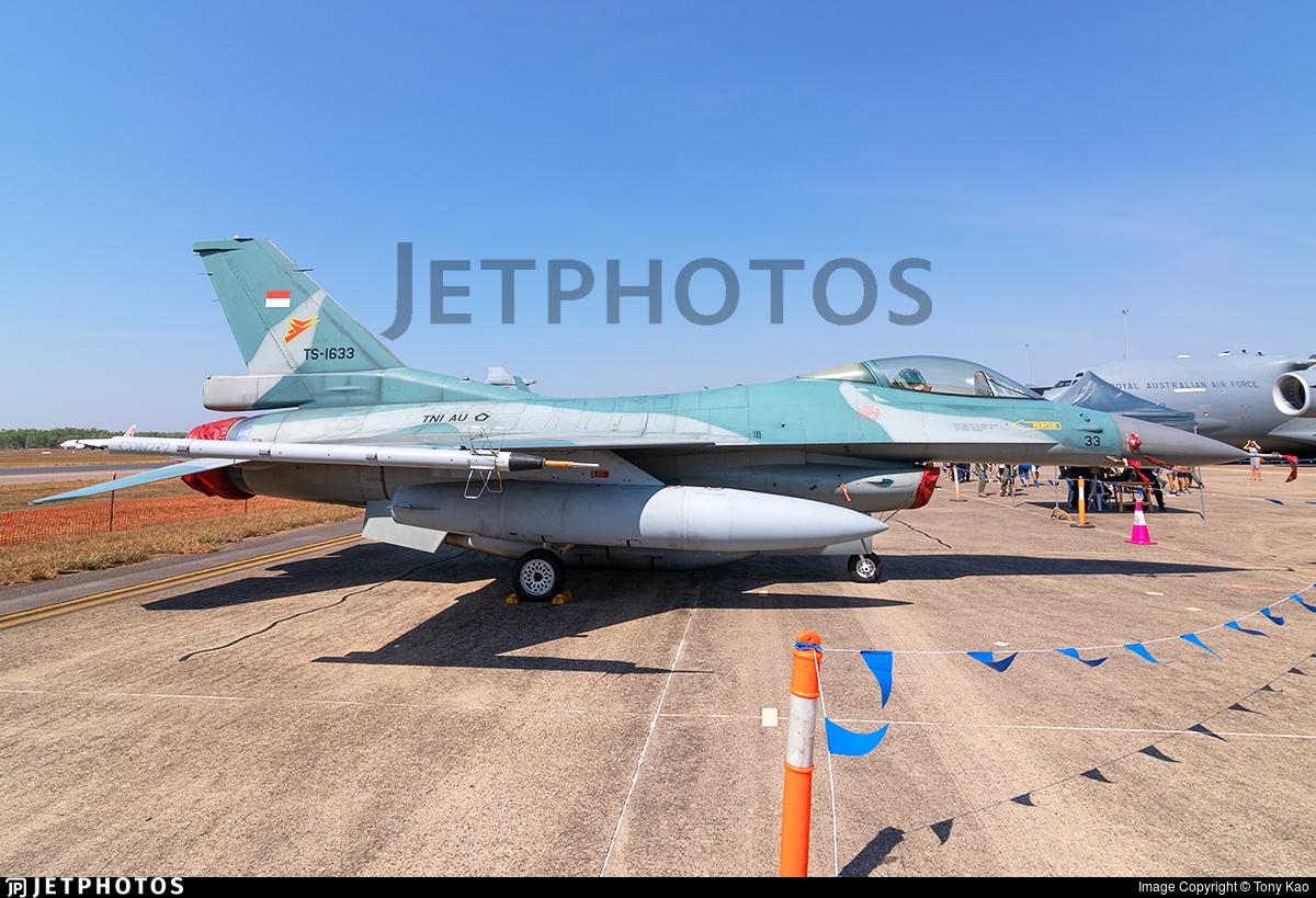 TS-1633 - Lockheed Martin F-16C Fighting Falcon - Indonesia - Air Force
