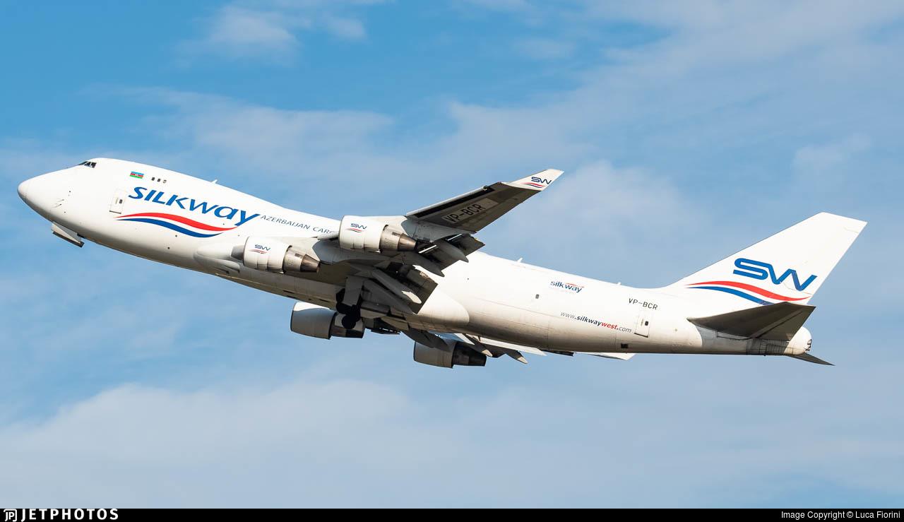 VP-BCR - Boeing 747-4H6F(SCD) - Silk Way West Airlines
