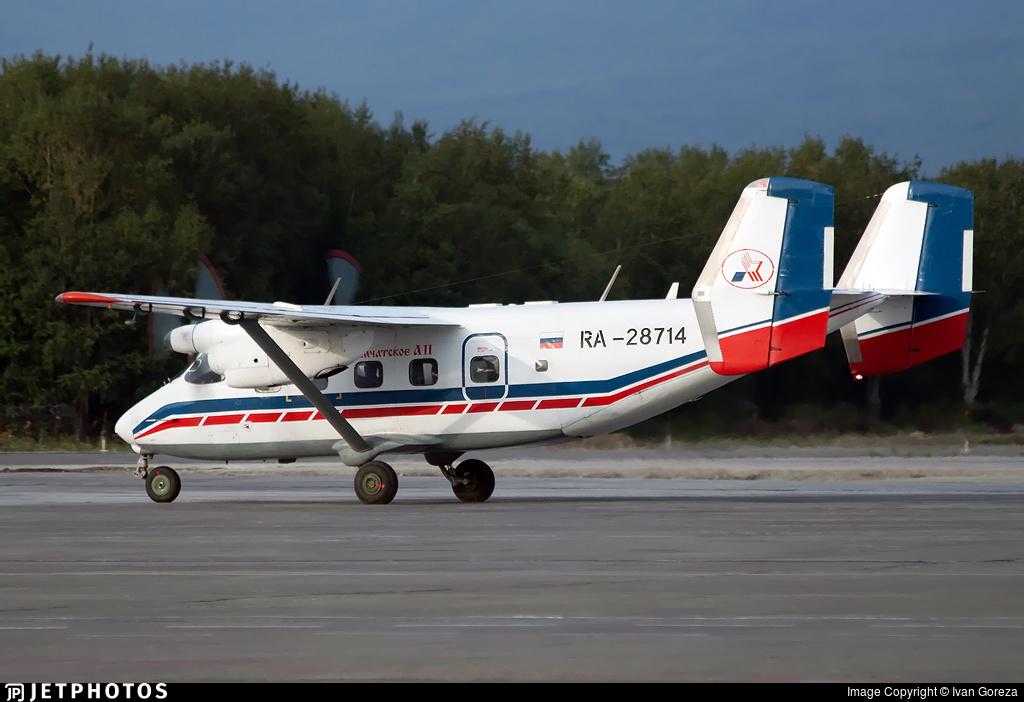 RA-28714 - Antonov An-28 - Petropavlovsk-Kamchatskoe Aviation Enterprise