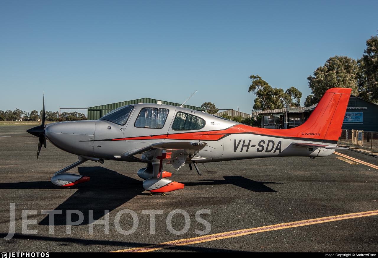 VH-SDA - Cirrus SR22-GTS G5 Carbon - Cirrus Aviation