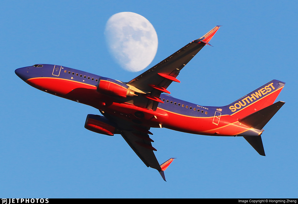 N7746C - Boeing 737-7BD - Southwest Airlines