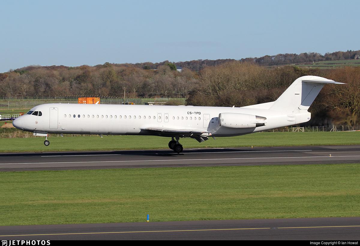 CS-TPD - Fokker 100 - Untitled