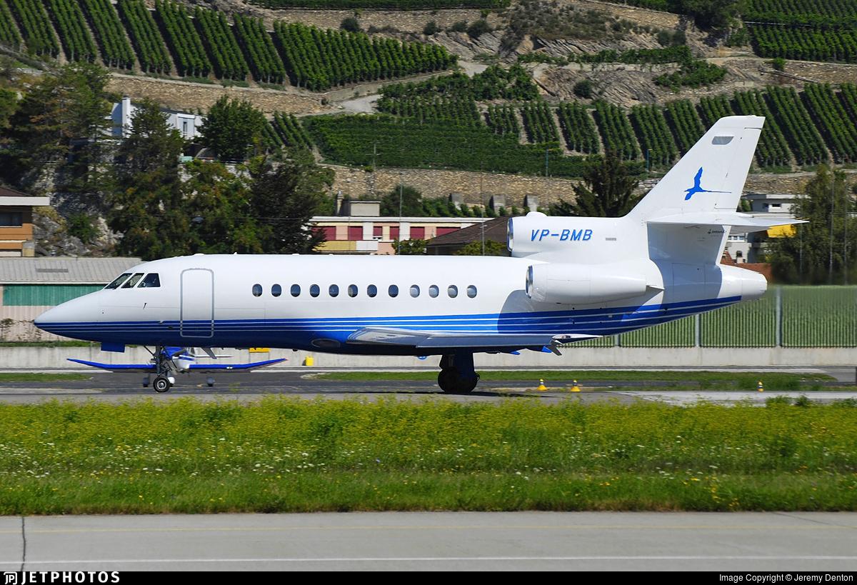 VP-BMB - Dassault Falcon 900 - Longtail Aviation