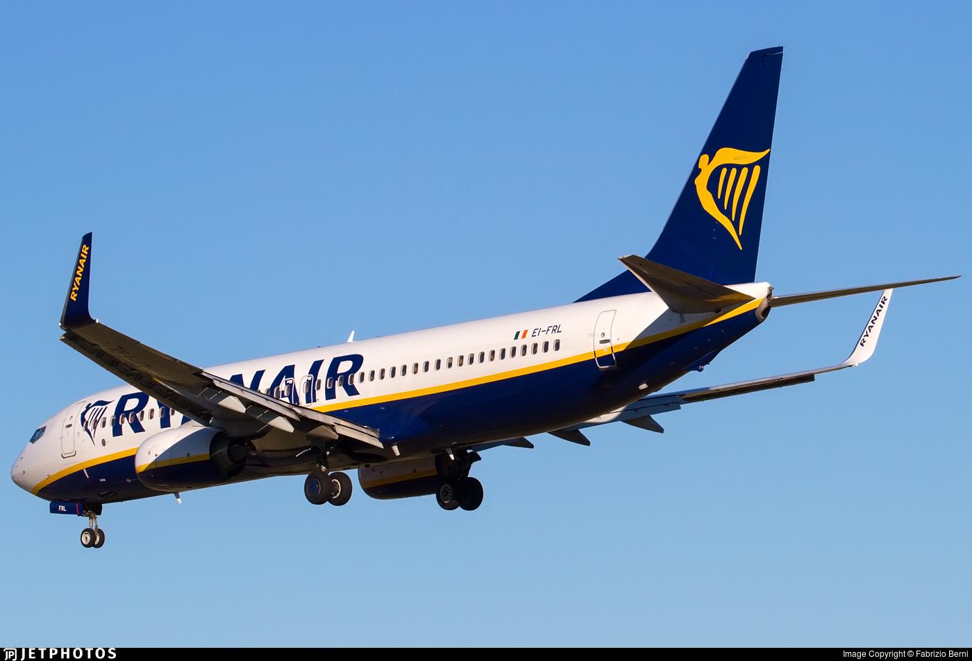EI-FRL - Boeing 737-8AS - Ryanair