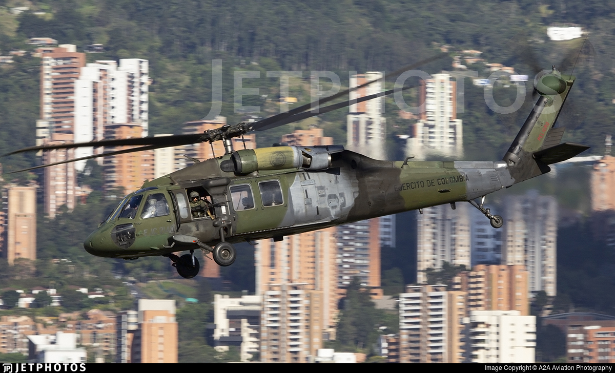 EJC2140 - Sikorsky UH-60L Blackhawk - Colombia - Army