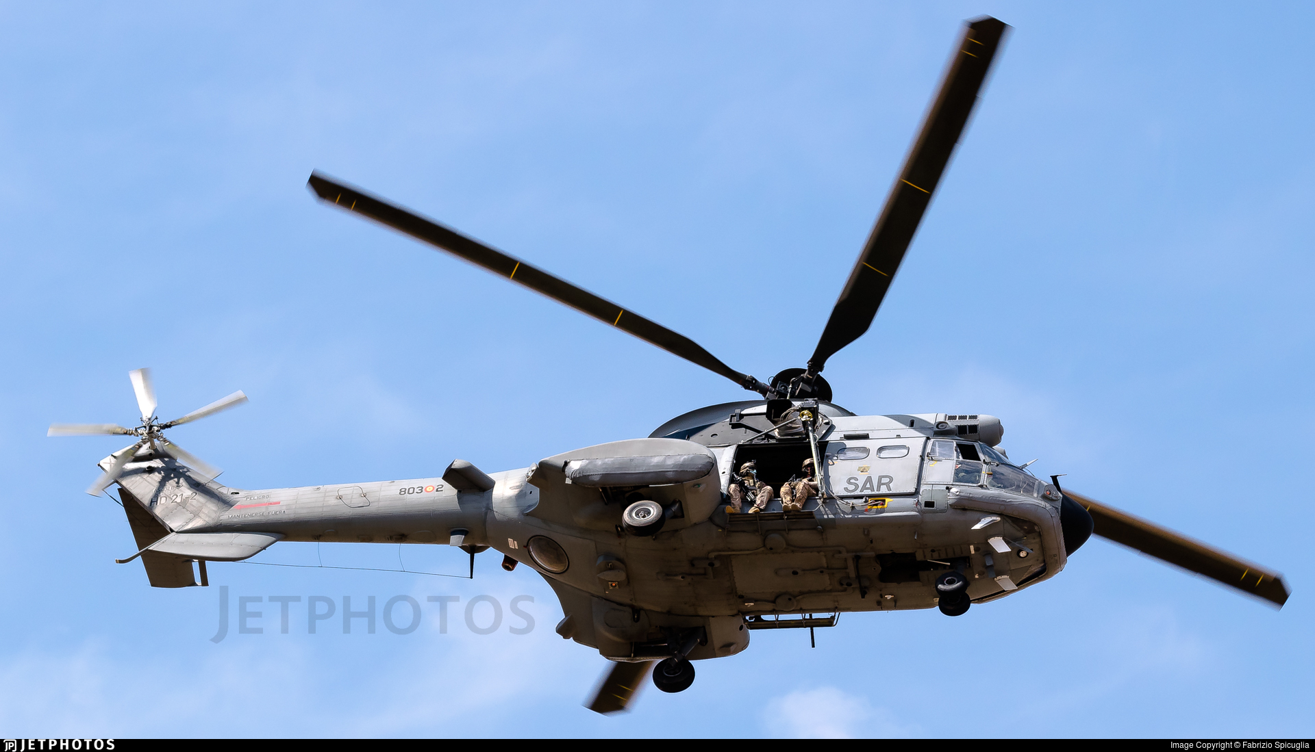 HD.21-2 - Aérospatiale AS 332 Super Puma - Spain - Air Force