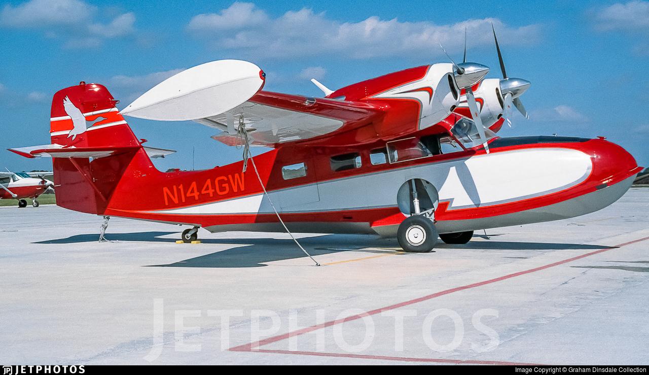 N144GW - Grumman G-44 Widgeon - Private