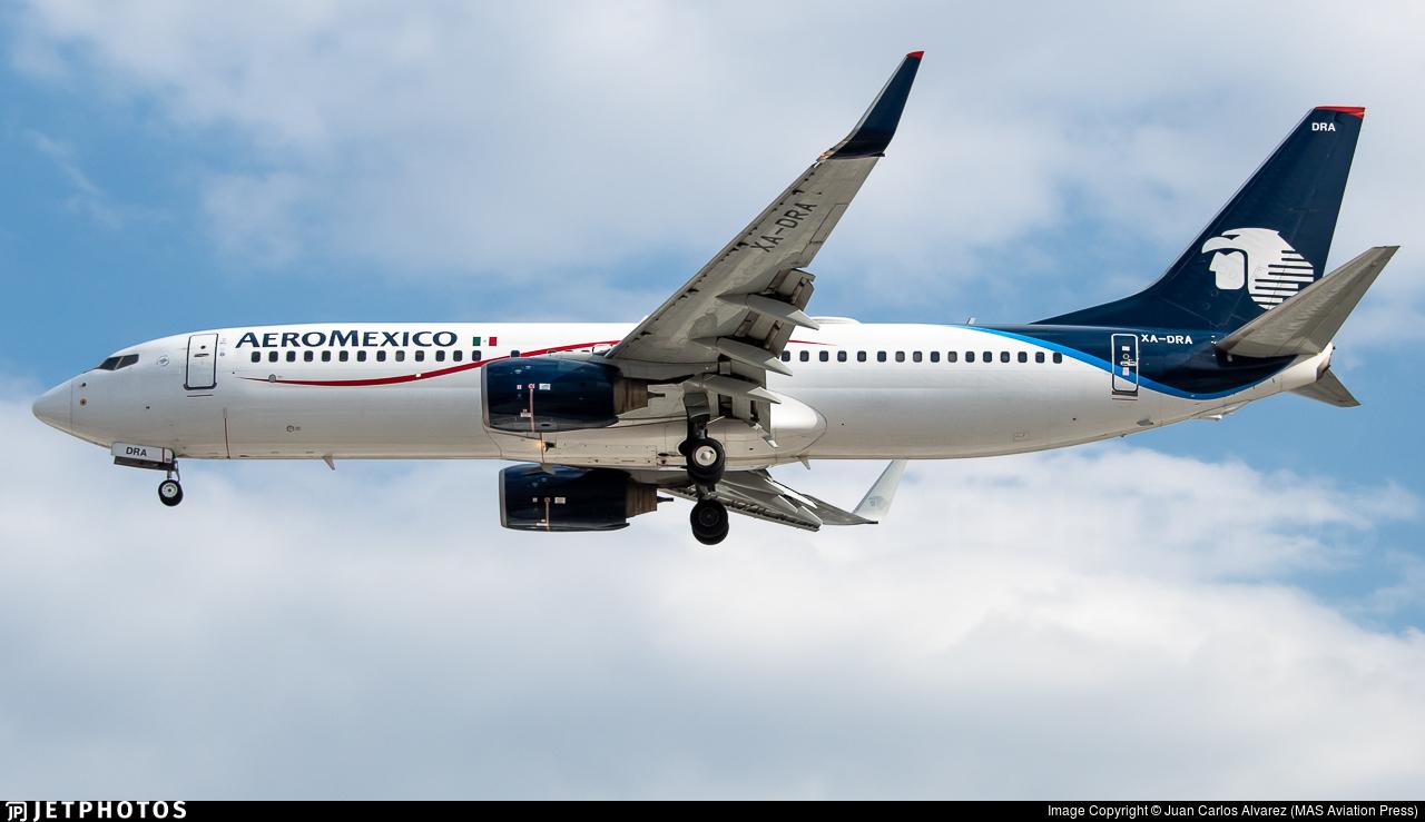 XA-DRA - Boeing 737-852 - Aeroméxico