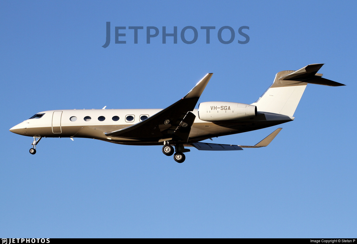VH-SGA - Gulfstream G650ER - Private