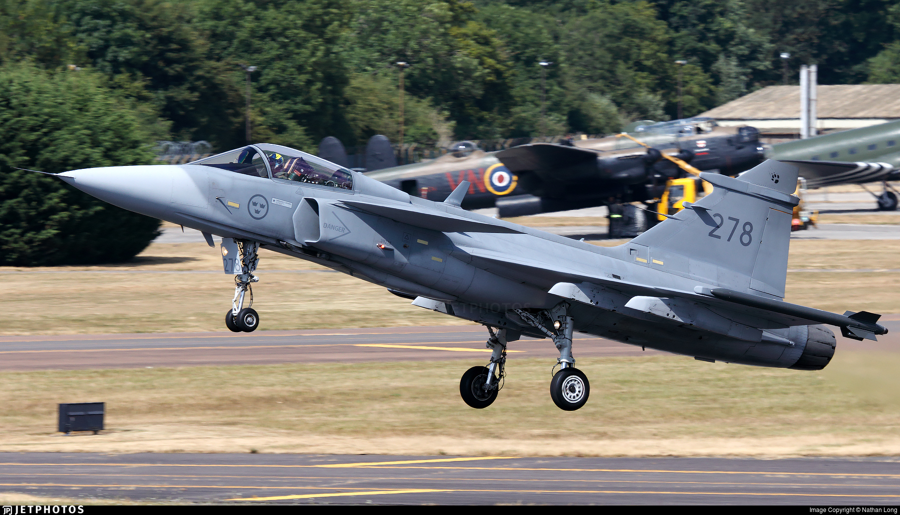 39278 - Saab JAS-39C Gripen - Sweden - Air Force