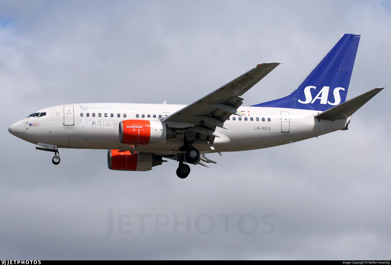 LN-RPS - Boeing 737-683 - Scandinavian Airlines (SAS)