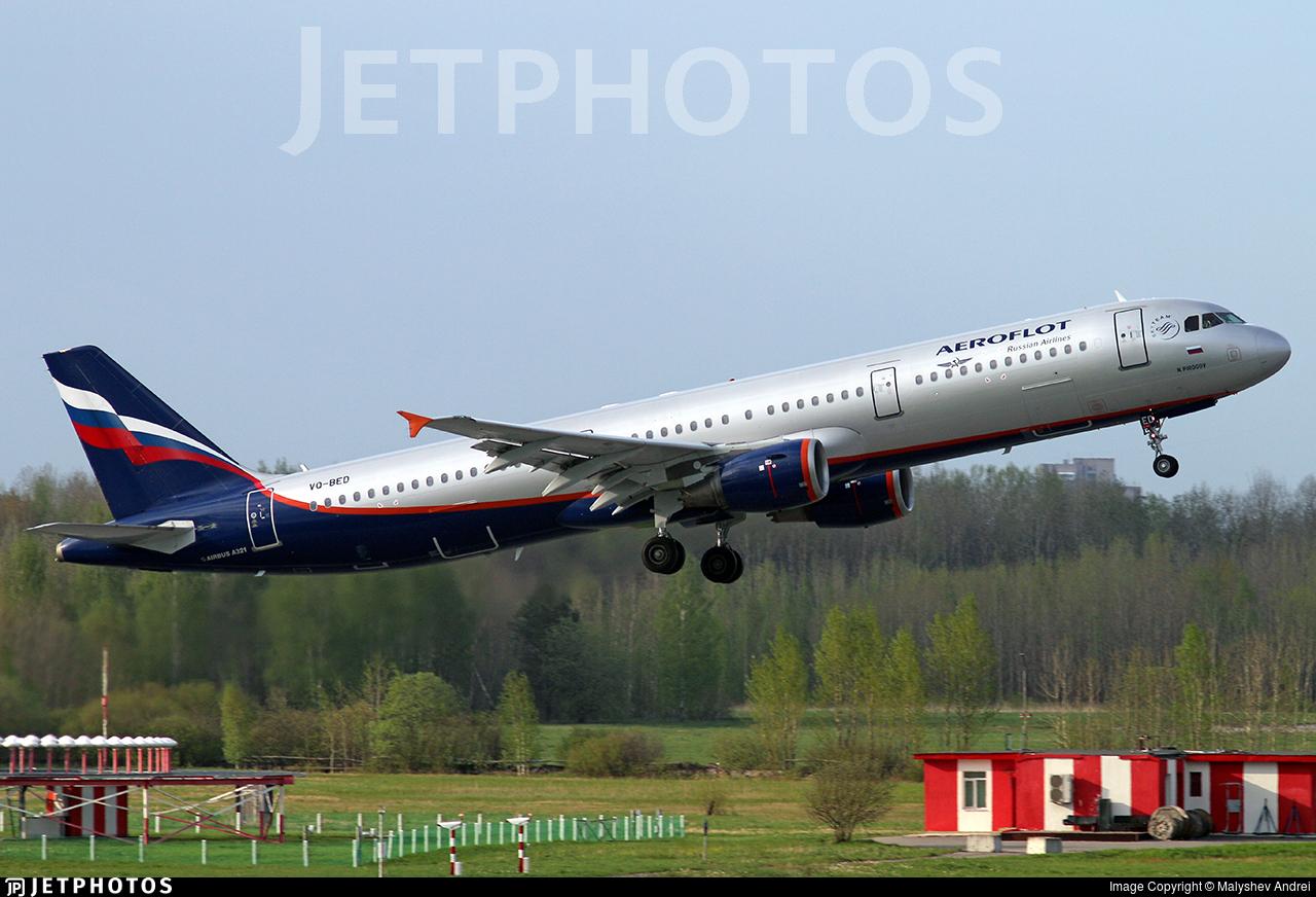 VQ-BED - Airbus A321-211 - Aeroflot