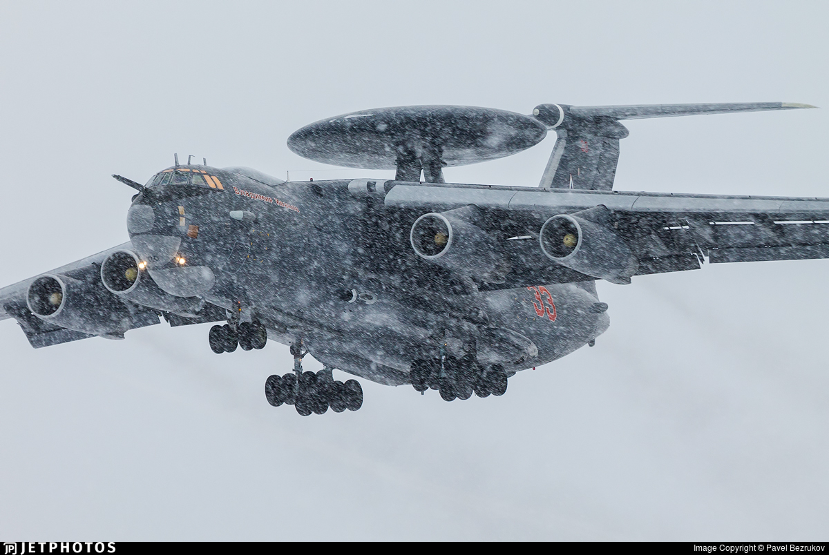 RF-50602 - Beriev A-50 Mainstay - Russia - Air Force