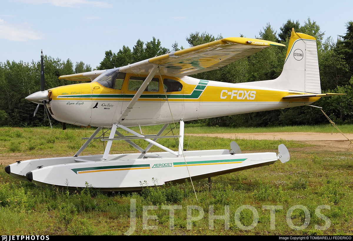 C-FOXS - Cessna 180F Skywagon - Private