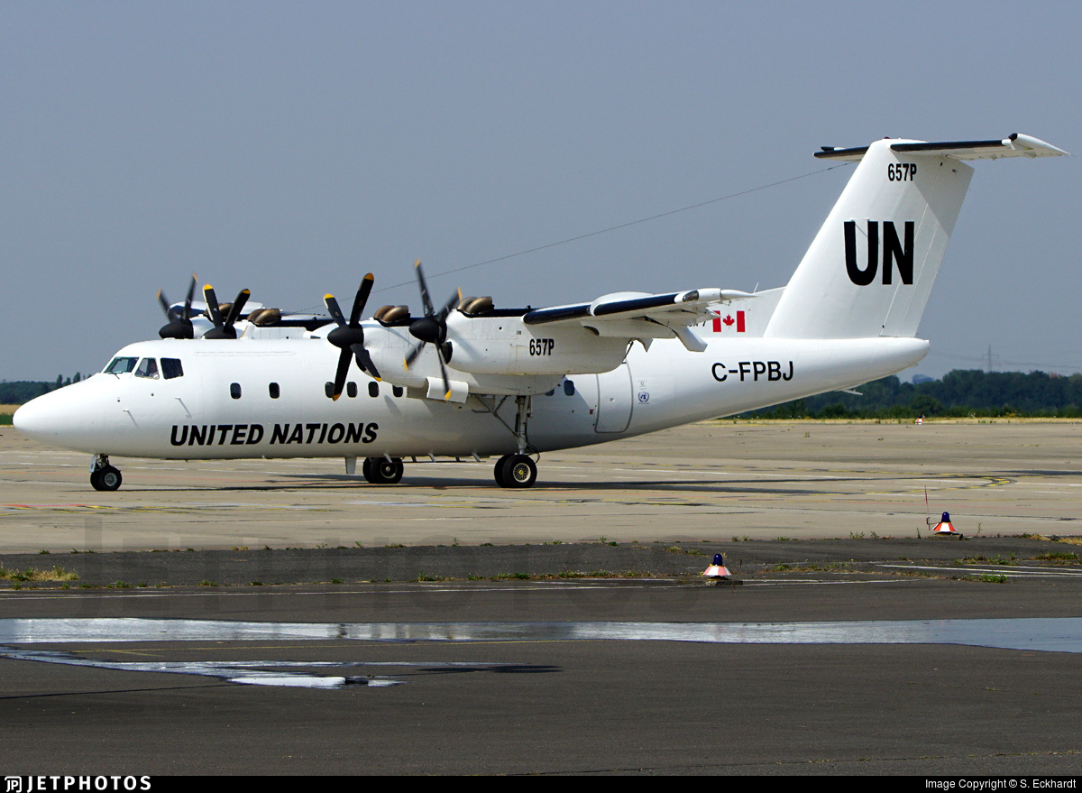 C-FPBJ - De Havilland Canada DHC-7-103 Dash 7 - United Nations (Trans Capital Air)