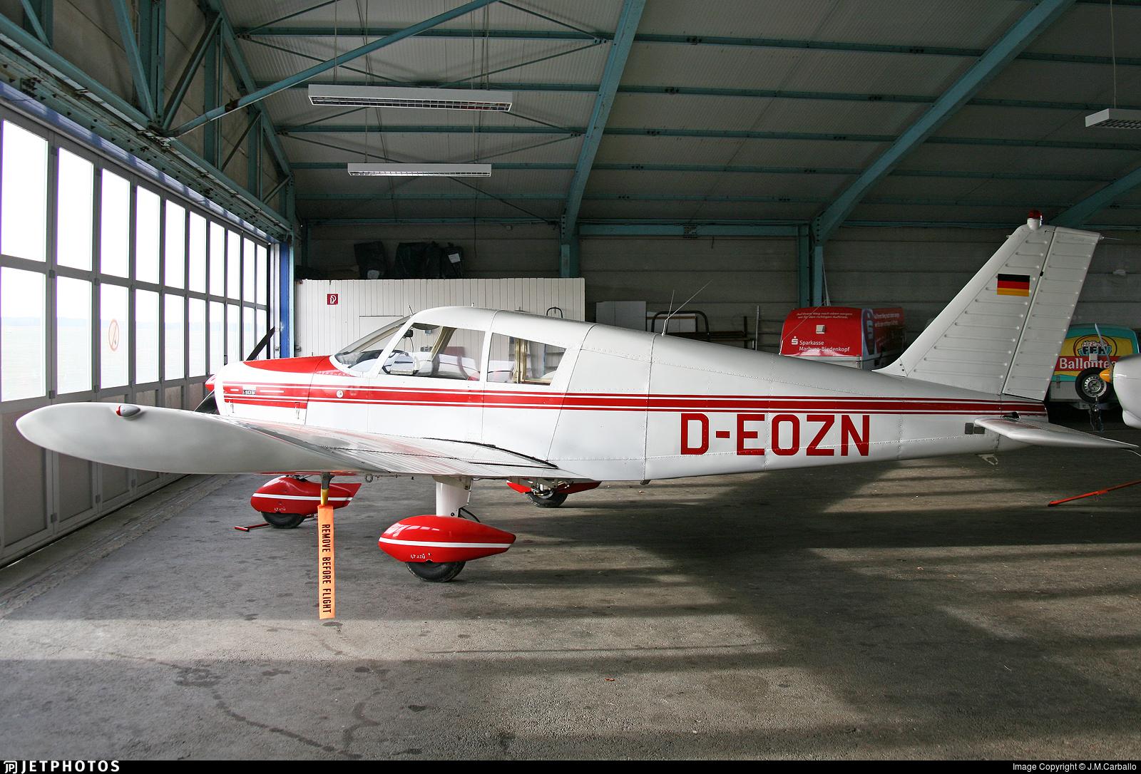 D-EOZN   Piper PA-28-140 Cherokee B   Private   J M Carballo