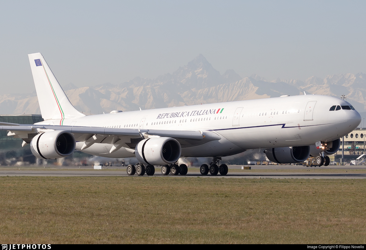I-TALY - Airbus A340-541 - Italy - Air Force
