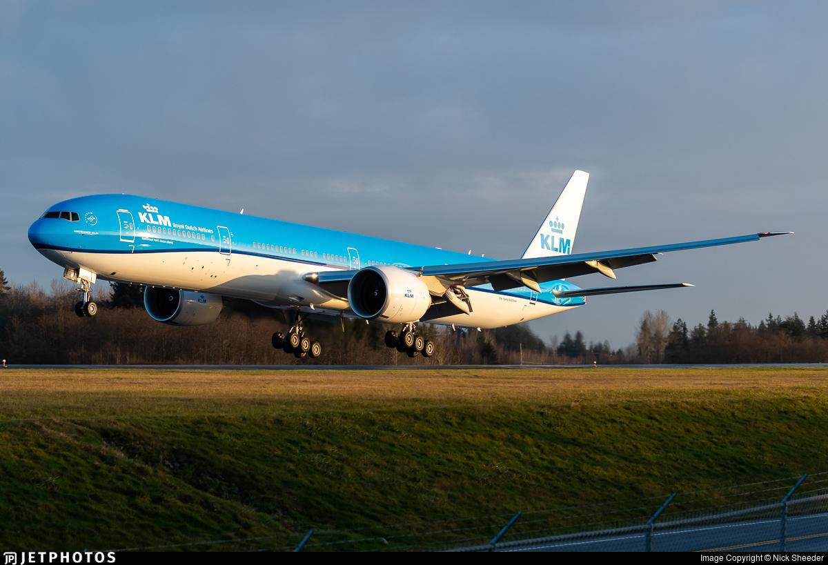 N5514J - Boeing 777-306ER - KLM Royal Dutch Airlines