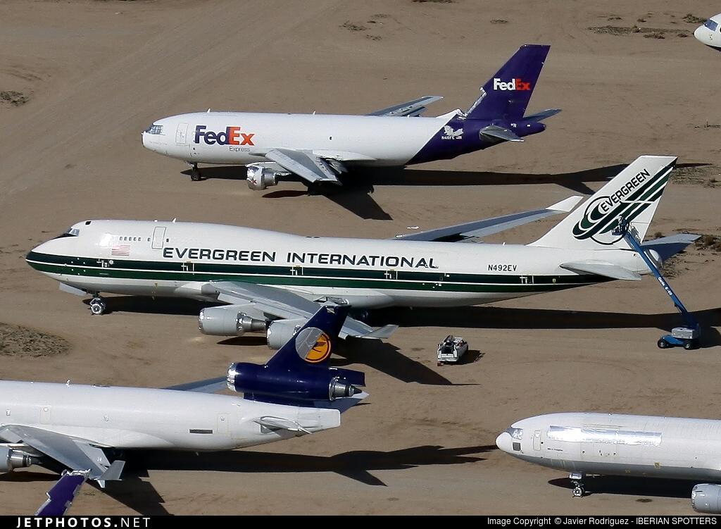 N492EV - Boeing 747-446(BCF) - Evergreen International Airlines