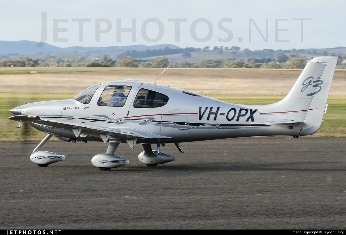 VH-OPX - Cirrus SR22-GTS G3 - Private