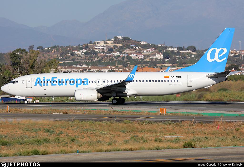 EC-MKL - Boeing 737-85P - Air Europa