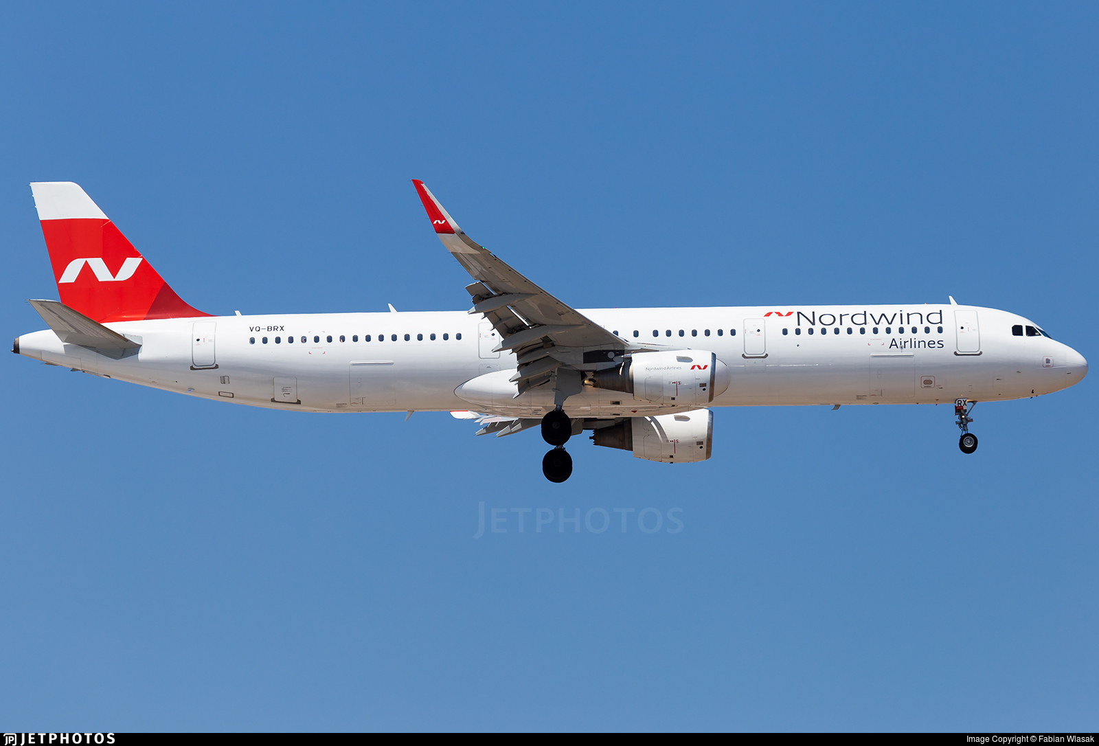 VQ-BRX - Airbus A321-211 - Nordwind Airlines