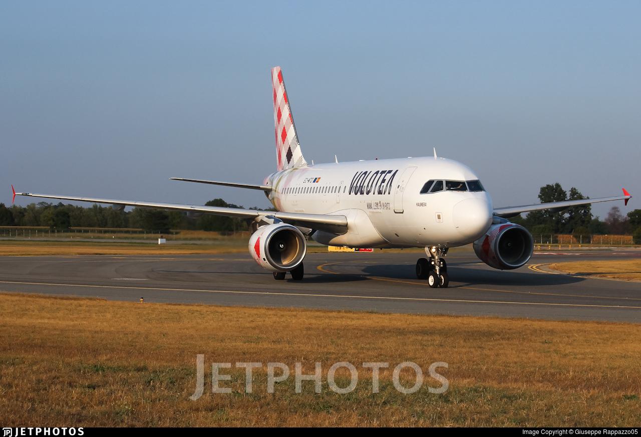EC-MTD - Airbus A319-111 - Volotea