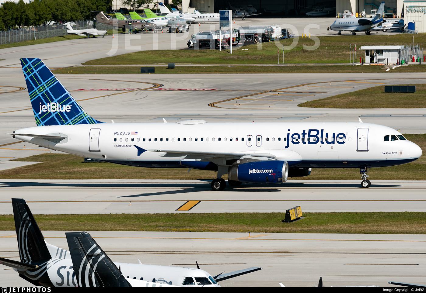 N529JB - Airbus A320-232 - jetBlue Airways