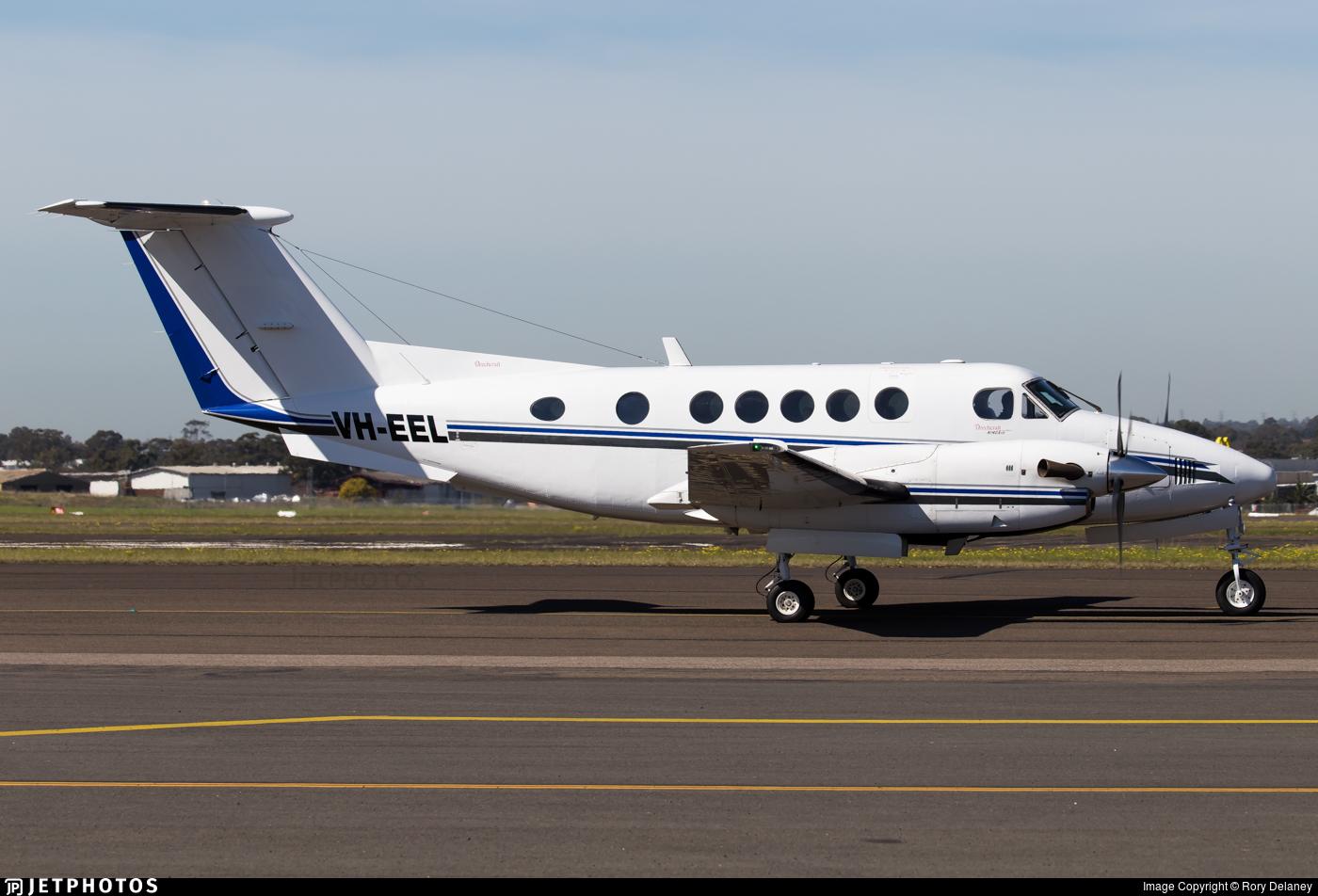 VH-EEL - Beechcraft B200 Super King Air - Private