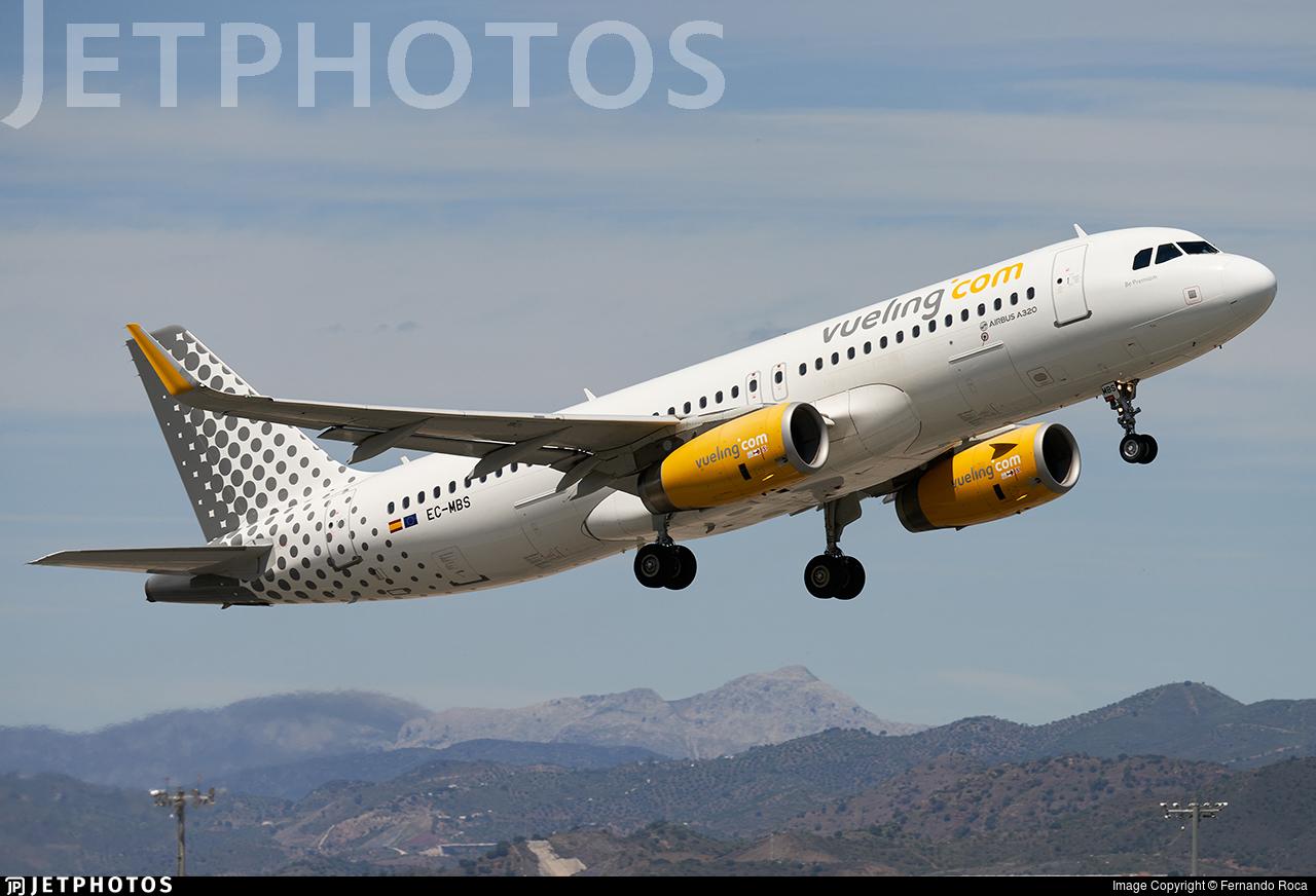 EC-MBS - Airbus A320-232 - Vueling