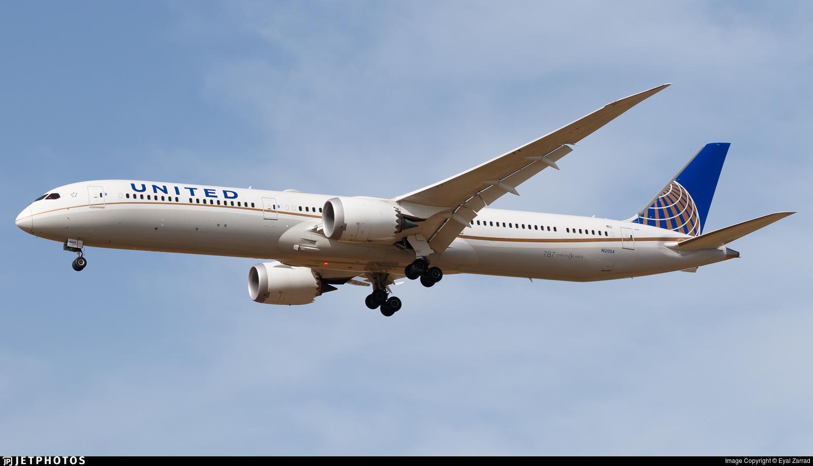 N12004 - Boeing 787-10 Dreamliner - United Airlines