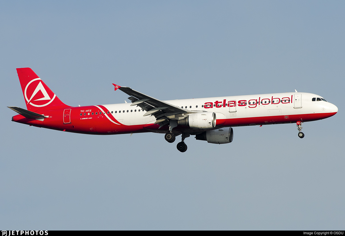 TC-ATZ - Airbus A321-211 - AtlasGlobal