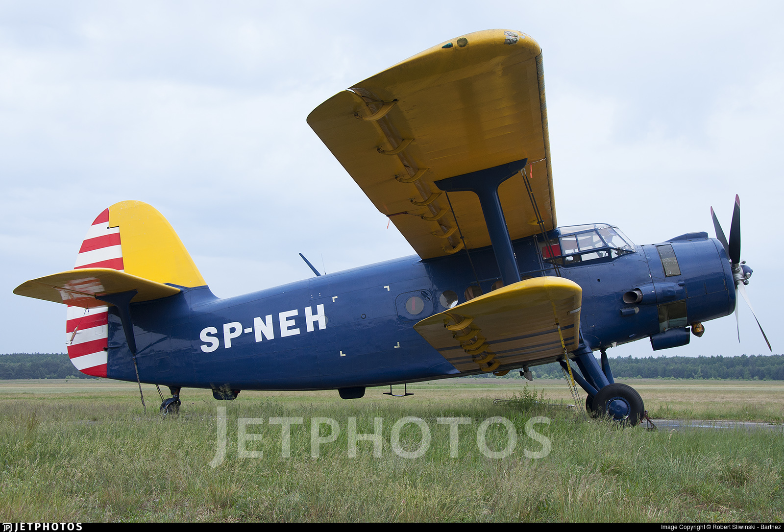 SP-NEH - PZL-Mielec An-2TD - Private