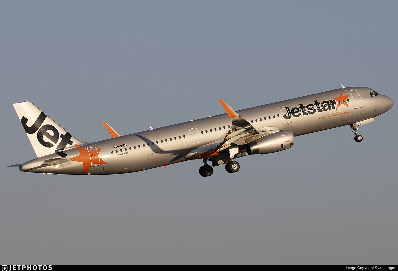 VH-VWN - Airbus A321-231 - Jetstar Airways