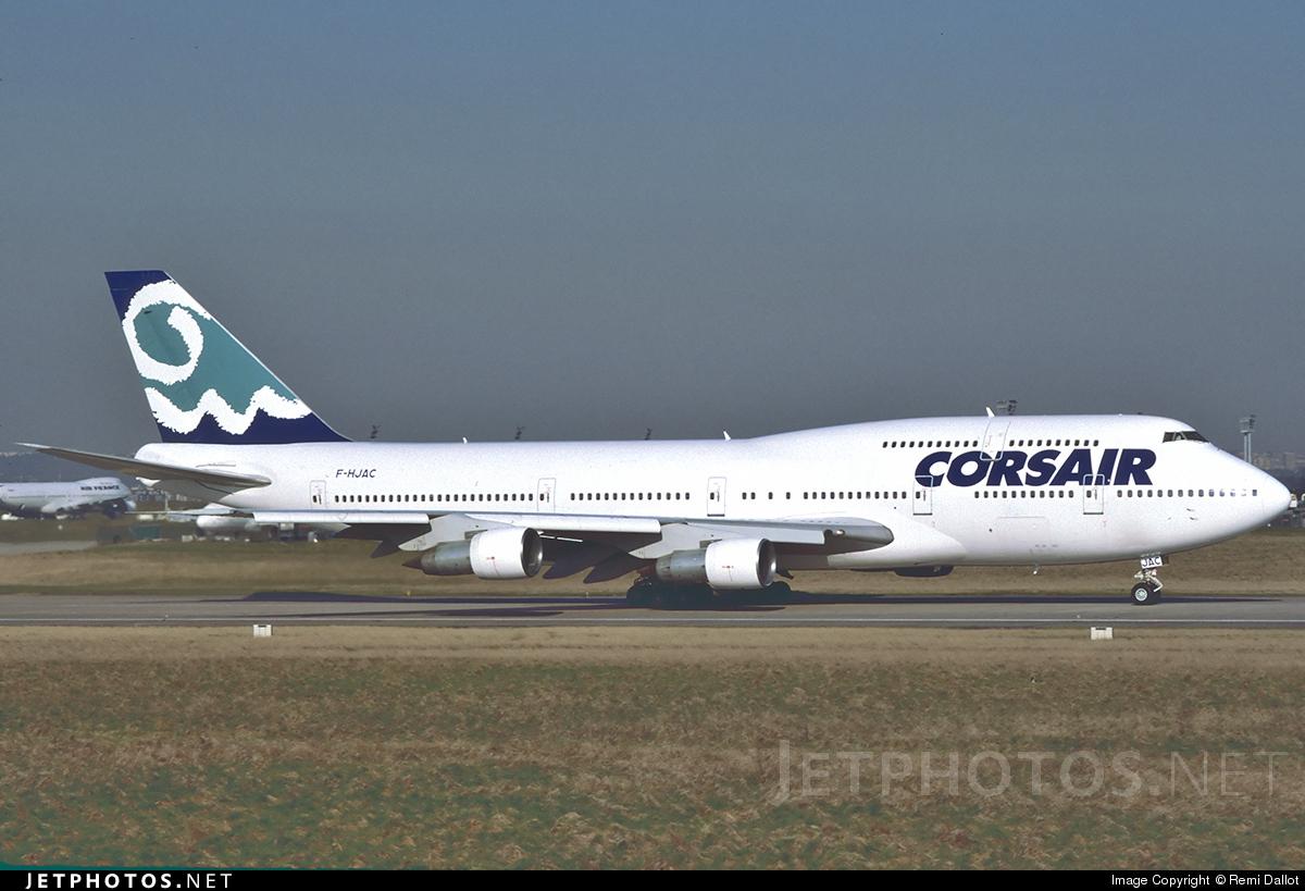 F-HJAC - Boeing 747-312 - Corsair