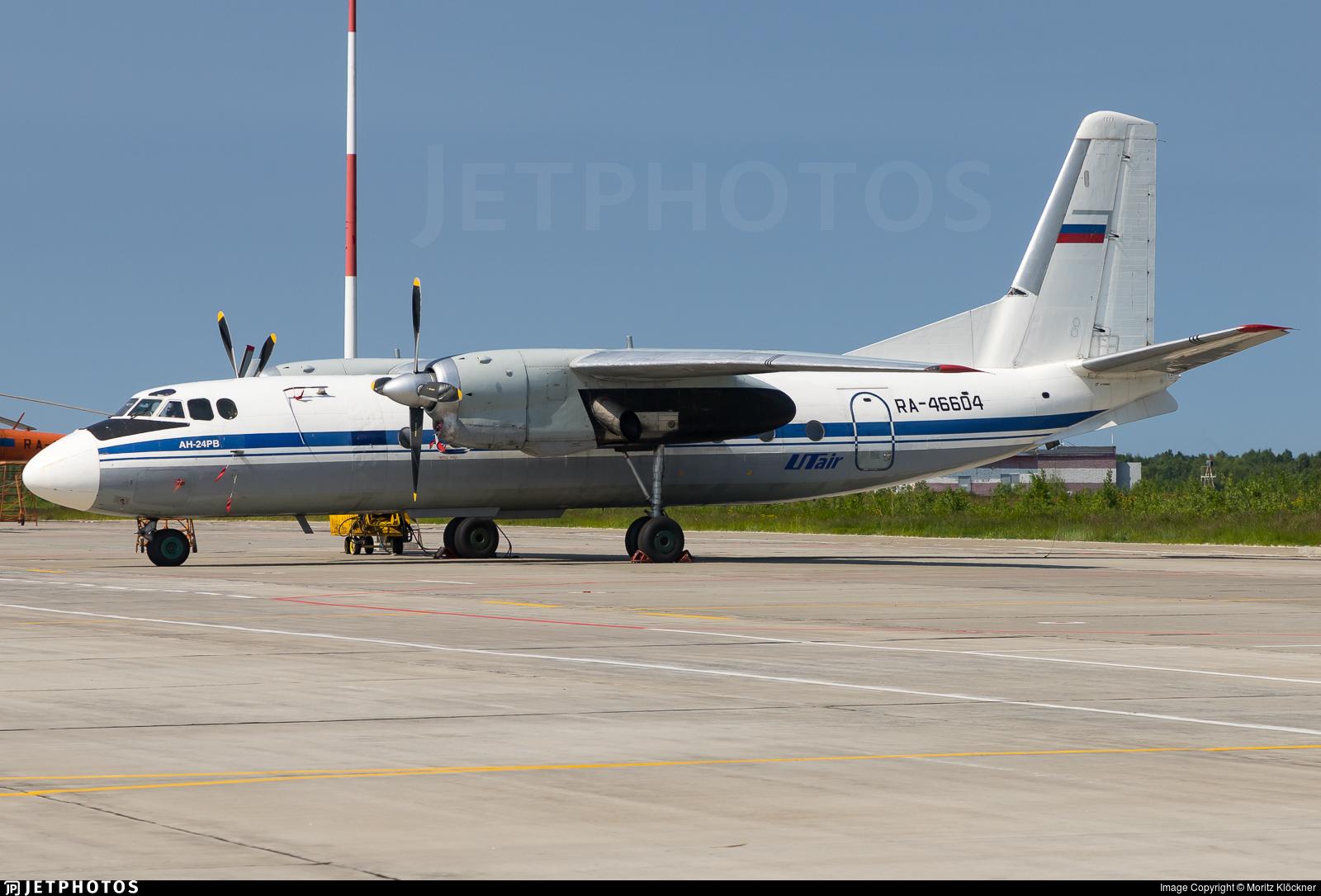 RA-46604 - Antonov An-24RV - Turuhan Avia