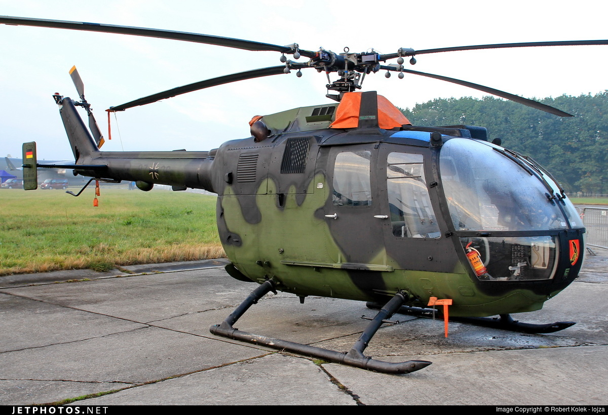 87-26 - MBB Bo105P1 - Germany - Army