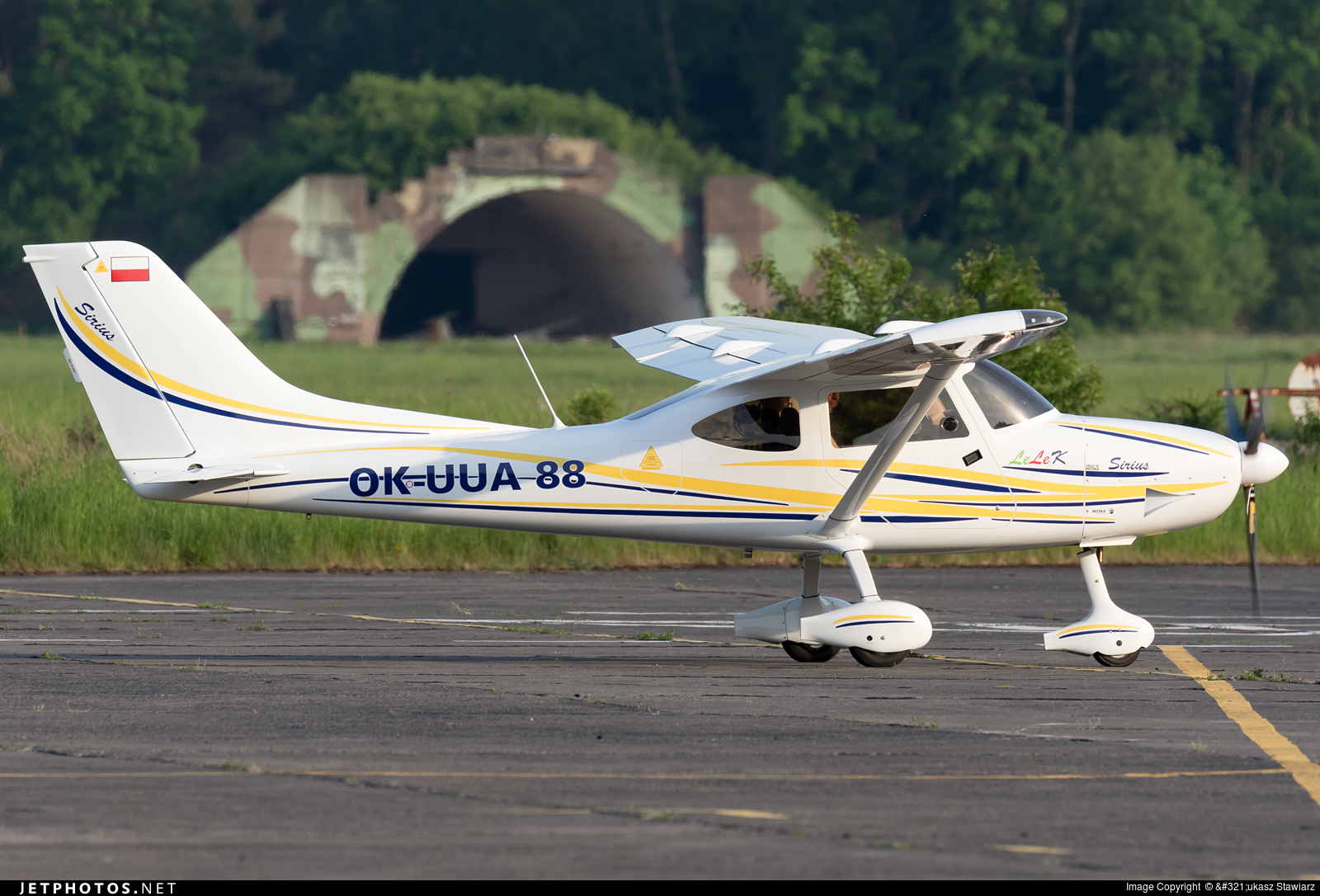 OK-UUA88 - TL Ultralight TL-3000 Sirius - Private