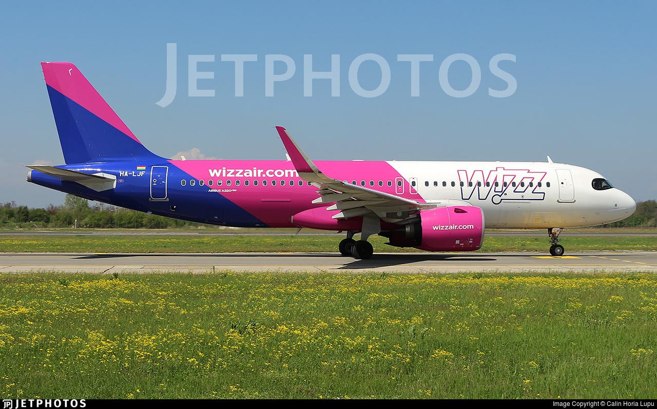 HA-LJF - Airbus A320-271N - Wizz Air