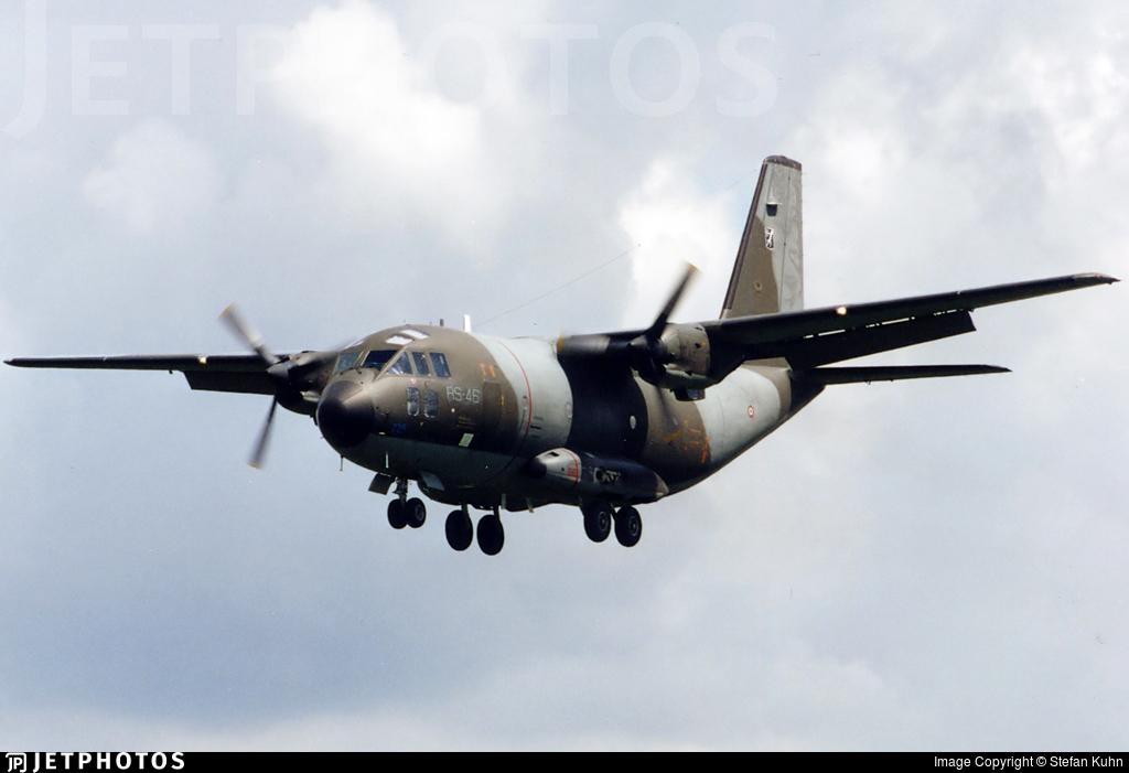 MM62121 - Alenia G-222TCM - Italy - Air Force