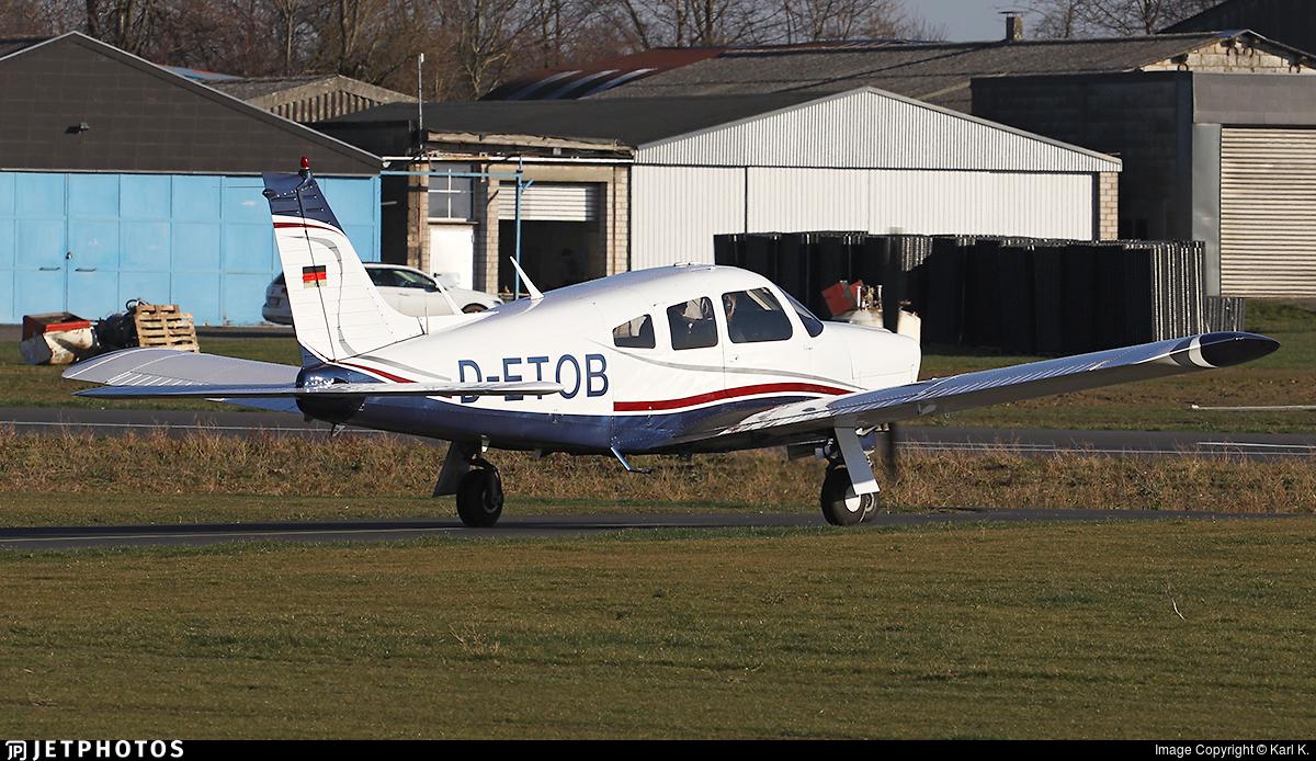 D-ETOB - Piper PA-28R-200 Arrow II - Private
