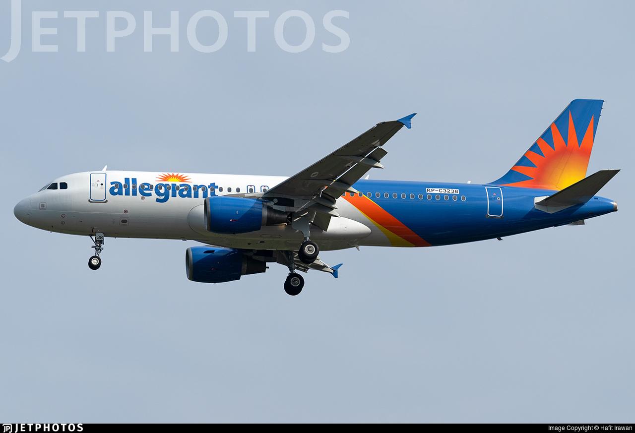 RP-C3238 - Airbus A320-214 - Allegiant Air