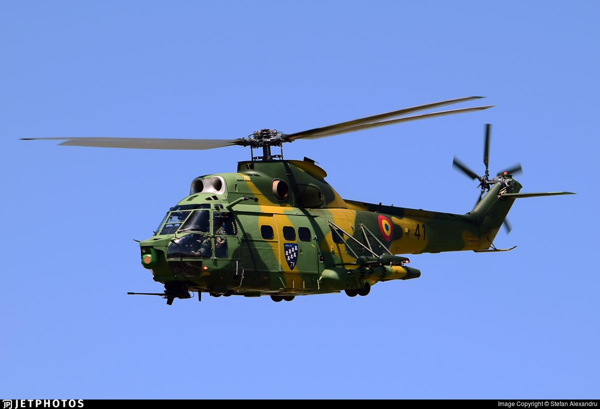 41 - IAR-330L Puma SOCAT - Romania - Air Force