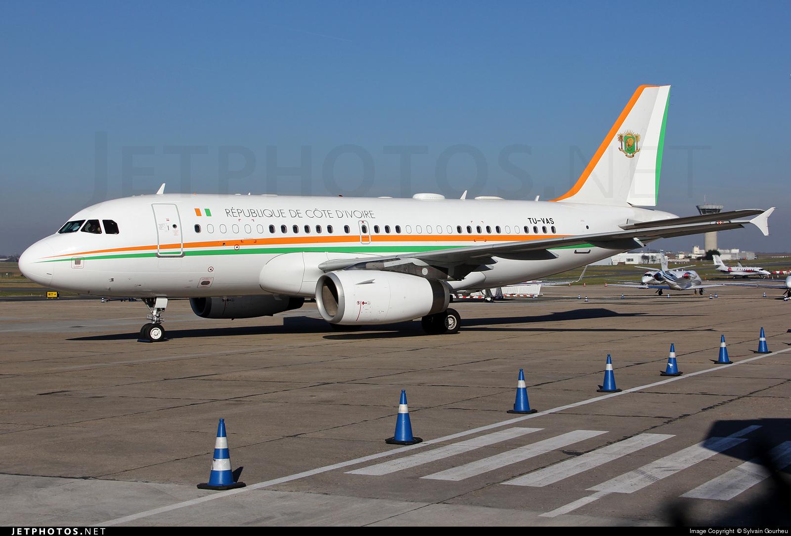 TU-VAS - Airbus A319-133X(CJ) - Ivory Coast - Air Force